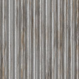 Corrugated metal. Surface with corrosion texture seamless background illustration Royalty Free Stock Photography