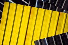 Corrugated metal Royalty Free Stock Image