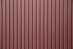 Corrugated metal background Stock Images