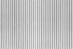 White Corrugated Metal Texture Surface Stock Photos