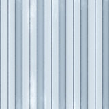 Corrugated metal. Corrugated blue steel with grooves Stock Photography