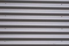 Corrugated metal. Can be used as background stock photo