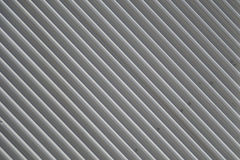 Corrugated metal cladding Stock Images