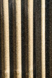 Corrugated metal Royalty Free Stock Image