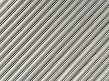 Corrugated metal pattern Stock Photo