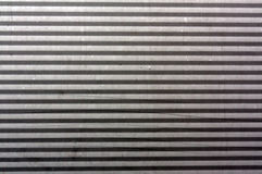 Corrugated metal plate surface. Stock Photo