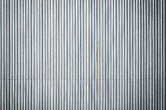 Corrugated metal roof, industrial background or texture. Royalty Free Stock Image