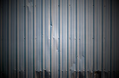 Corrugated metal sheet Royalty Free Stock Photos