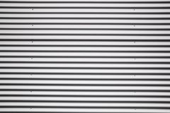 Corrugated metal sheet Royalty Free Stock Image
