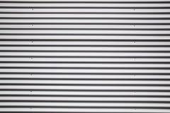 Corrugated metal sheet Royalty Free Stock Image