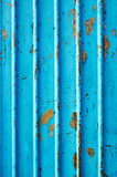 Corrugated metal sheet Stock Images
