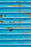 Corrugated metal sheet Stock Photos