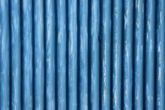 Corrugated metal sheet fence Royalty Free Stock Photo