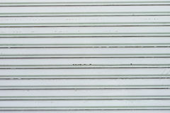 Corrugated metal sheet Royalty Free Stock Photography