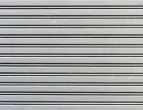 Corrugated metal sheet Stock Image