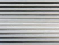 Corrugated metal sheet Stock Image