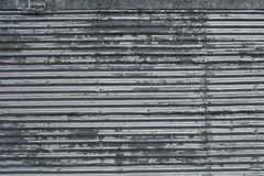 Corrugated metal sheet with rivets pattern texture background royalty free stock photos
