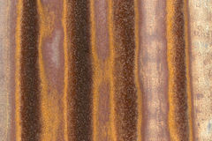 Corrugated metal sheet texture Royalty Free Stock Photos