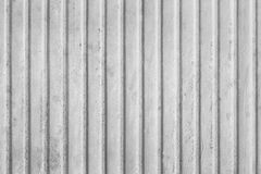 Corrugated metal sheet Stock Photo