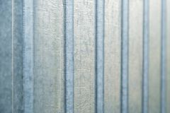 Corrugated metal sheet wall background texture Royalty Free Stock Photography