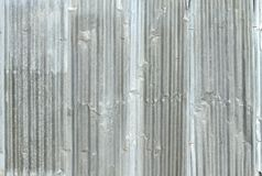 Corrugated metal sheet wall. Texture background stock image