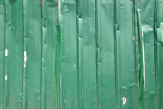 Corrugated Metal Sheets Fencing royalty free stock photography