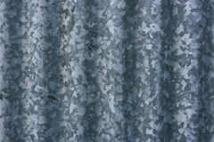 Corrugated Metal Surface Royalty Free Stock Image