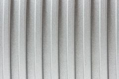 Corrugated metal surface Stock Photos