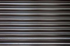 Corrugated metal surface Royalty Free Stock Images