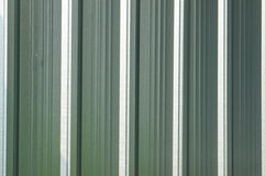Corrugated metal surface with corrosion seamless texture Stock Photos