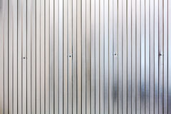 Corrugated metal surface, galvanized steel background Royalty Free Stock Images