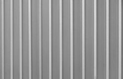 Corrugated metal texture Stock Image