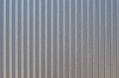 Corrugated metal texture surface Royalty Free Stock Photos