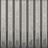 Corrugated Metal Vector. Corrugated metal with vertical ridges. A great background texture. This vector contains a traced image.  The original can be found in my Stock Photography