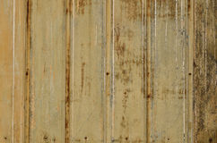 Corrugated metal wall Royalty Free Stock Photo