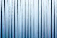 Corrugated metal wall background Stock Photography