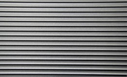 Corrugated Metal Wall Paneling Royalty Free Stock Images