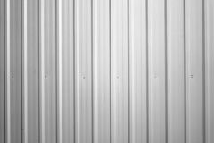 Corrugated metal. Wall,  texture surface steel for background Stock Photography