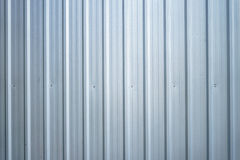 Corrugated metal. Wall,  texture surface steel for background Stock Images