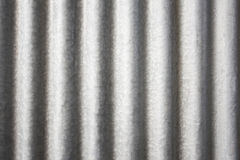 Corrugated metal zinc Royalty Free Stock Images