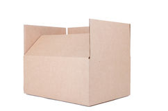 Corrugated packaging Royalty Free Stock Images
