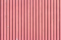 Corrugated painted steel Stock Photos