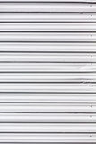 Corrugated painted steel Stock Image