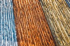 Corrugated paper background Stock Photo