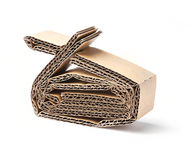 Corrugated Paper royalty free stock photo