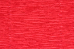 Corrugated paper dyed red Royalty Free Stock Photo