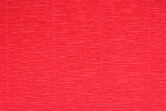 Corrugated paper red background Royalty Free Stock Images