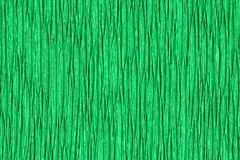 Corrugated paper rumpled green  background Royalty Free Stock Image