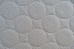 Corrugated Paperboard with Circles Impress Royalty Free Stock Image
