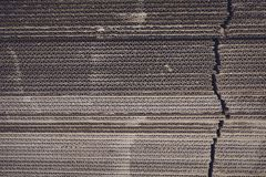 Corrugated paperboard Royalty Free Stock Images